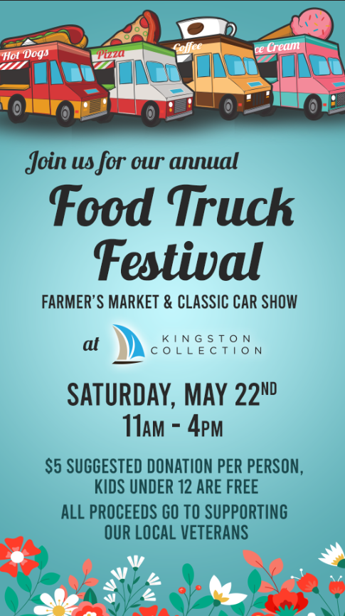 Food Truck Festival Ad May 22nd